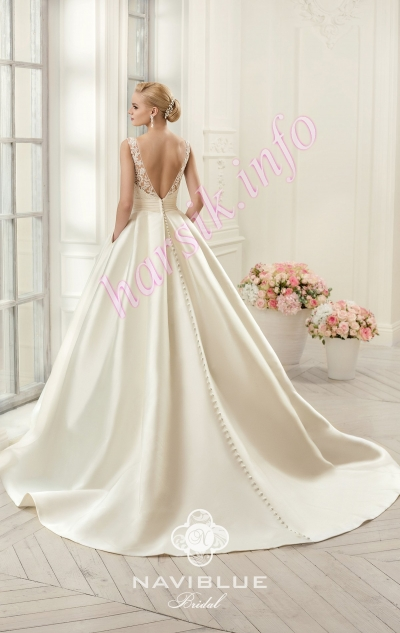 NaviBlue Bridal 14439-Back