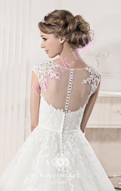 NaviBlue Bridal 13035-Back